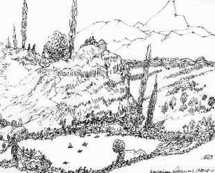Landscape of Armenia — Мартирос Сарьян