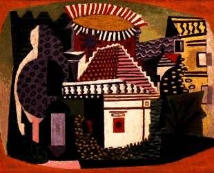 Landscape of Juan-les-Pins — Пабло Пикассо