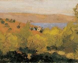 Landscape, Sounion — Николаос Литрас