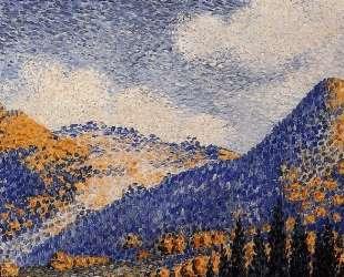 Landscape, the Little Maresque Mountains — Анри Эдмон Кросс