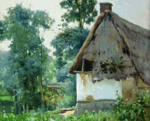 Landscape with an Abandoned House — Ефим Волков