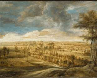 Landscape with an Avenue of Trees — Питер Пауль Рубенс