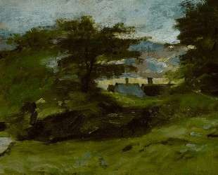 Пейзаж с домами — Джон Констебл