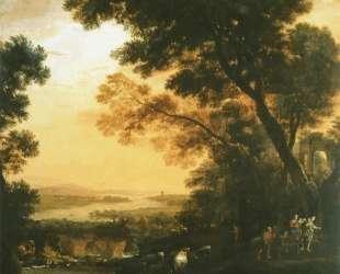 Landscape with Flight into Egypt — Клод Лоррен
