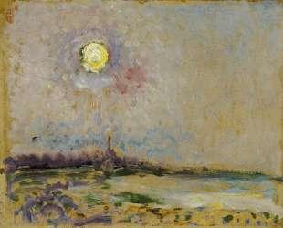 Landscape with full moon — Ян Слёйтерс