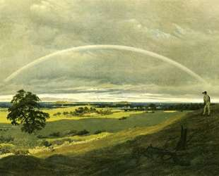 Landscape with rainbow — Каспар Давид Фридрих