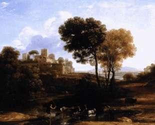 Landscape with Shepherds — Клод Лоррен