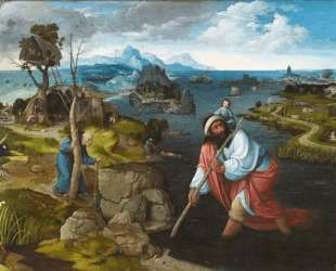 Landscape with St. Christopher — Иоахим Патинир