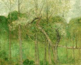 Landscape with Steeple, Wyndham — Джулиан Олден Вейр