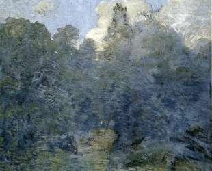 Landscape with Stone Wall, Windham — Джулиан Олден Вейр