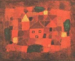 Landscape with Sunset — Пауль Клее