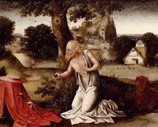 Landscape With The Penitent Saint Jerome — Иоахим Патинир