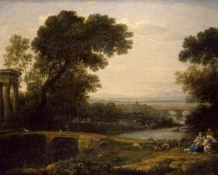 Landscape with the Rest on The Flight into Egypt — Клод Лоррен