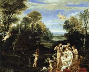 Landscape with the Toilet of Venus — Аннибале Карраччи