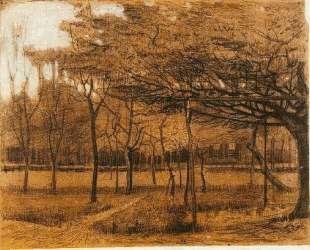 Landscape with Trees — Винсент Ван Гог