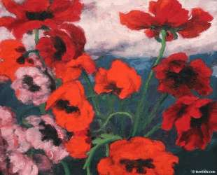 Large Poppies — Эмиль Нольде