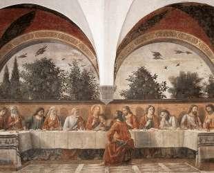 Last Supper — Доменико Гирландайо