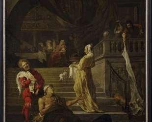 Lazarus and the Rich Man — Габриель Метсю