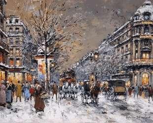 Les Grands Boulevards, Sous la Neige — Антуан Бланшар
