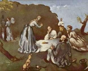 Luncheon on the Grass — Поль Сезанн