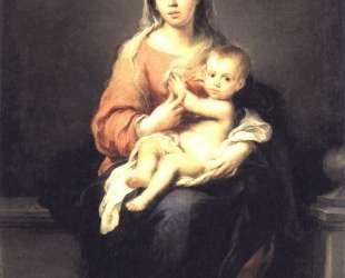 Madonna and Child — Бартоломе Эстебан Мурильо