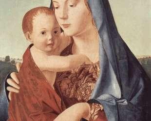 Мадонна с младенцем (Мадонна Бенсон) — Антонелло да Мессина