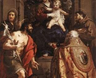 Madonna and Saints — Пьетро да Кортона