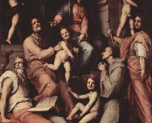 Madonna, angels and saints — Джакопо Понтормо