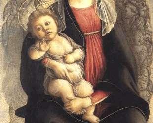 Мадонна в славе с Серафимом — Сандро Ботичелли