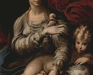 Madonna of the Rose — Пармиджанино