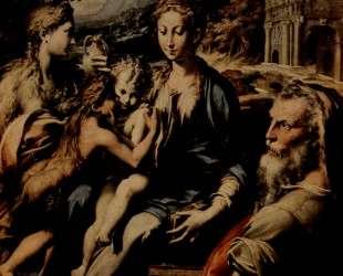 Madonna with Saint Zacharias — Пармиджанино