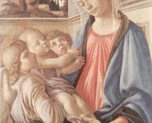Мадонна с двумя ангелами — Сандро Ботичелли