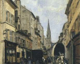 Main Street in Argenteuil — Альфред Сислей
