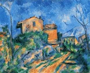 Maison Maria with a View of Chateau Noir — Поль Сезанн