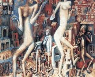 Мужчина и женщина — Павел Филонов