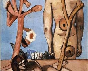 Man and woman — Макс Бекман