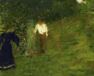 Man and Woman beneath a Tree — Эдуар Вюйар