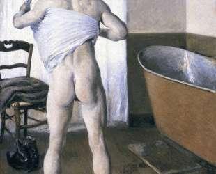 Man at His Bath — Гюстав Кайботт