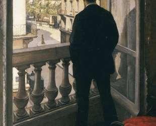 Man at the Window — Гюстав Кайботт