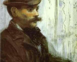 Man in a Round Hat (Alphonse Maureau) — Эдуард Мане
