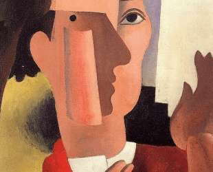 Man with a Red Kerchief — Роже де ла Френе