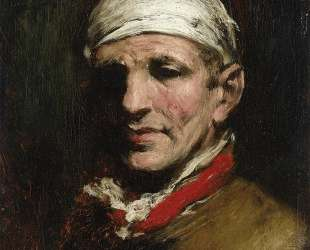 Man with Bandana — Уильям Меррит Чейз