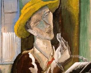 Man with the Yellow Hat — Осип Цадкин