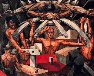 Mankind's Struggle for Lasting Peace (detail) — Вела Дзанетти