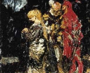 Margaree, Faust and Mephisto — Адольф Жозеф Тома Монтичелли