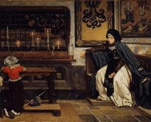 Marguerite in Church — Джеймс Тиссо