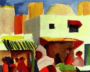 Market in Algiers — Август Маке