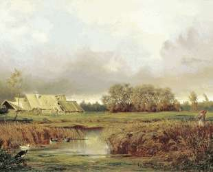 Marsh in Autumn — Ефим Волков