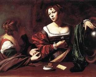 Марта и Мария Магдалина — Караваджо