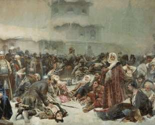 Martha the Mayoress. Destruction of Novgorod by Ivan III. — Клавдий Лебедев